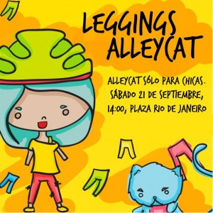 LEGGINGS ALLEYCAT Spokecard